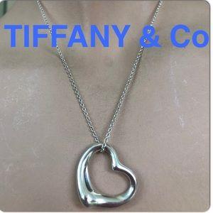 🔴Authentic TIFFANY & CO PERETTI  Heart Necklace❤️